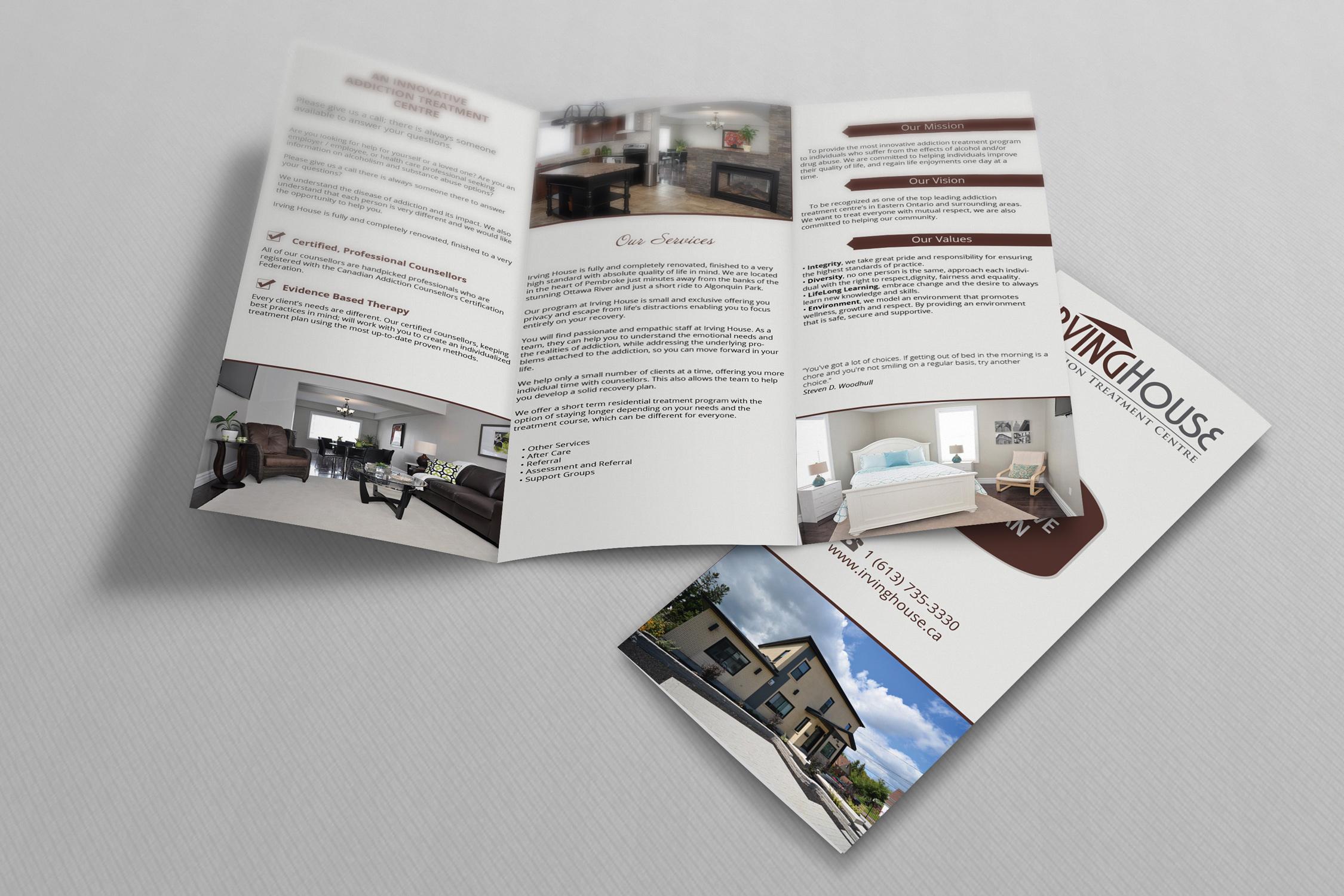 Brochure Irving House Addiction Treatment