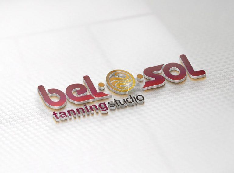 Logo Design Belosol Tanning