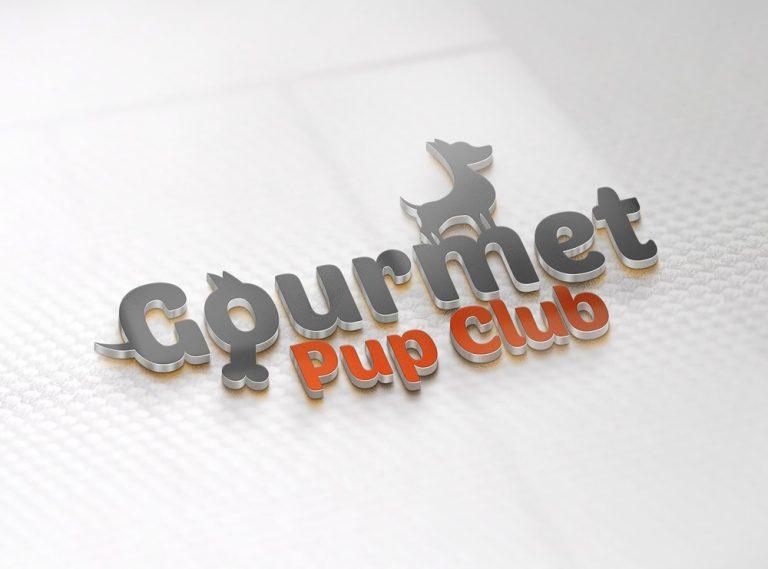 Logo Design Gourmet Pup Club