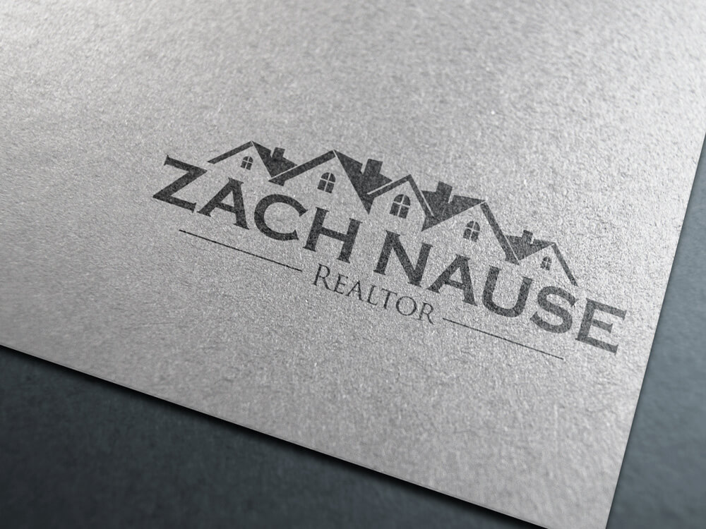Logo Design Zach Nasue Realtor 2