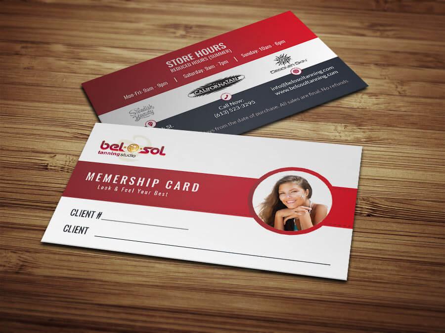 Business Cards Bel O Sol Tanning Salon5 1