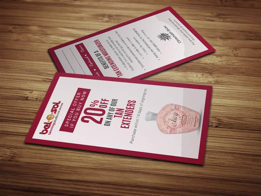 Business Cards Bel O Sol Tanning Salon8