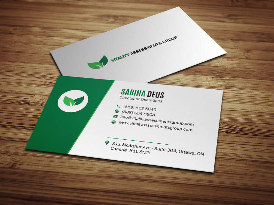 Our offered services work portfolio at glance designful business card vitality group reheart Gallery