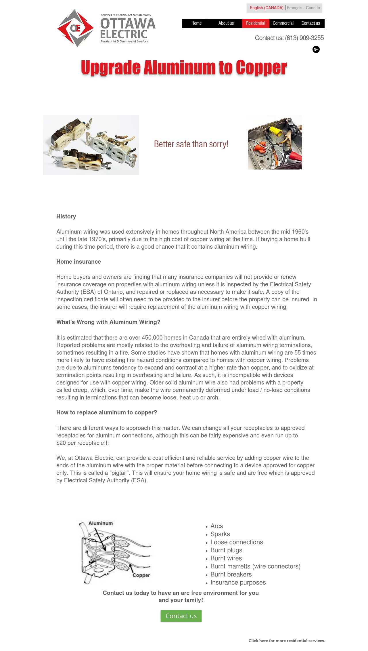 Webpage Make Over Designful Web Multimedia Design Aluminum Wiring Connectors After