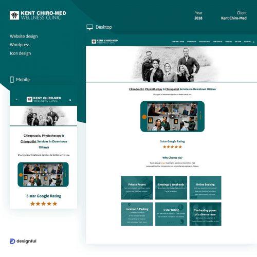 Kent Chiro-Med Company Website- ottawa web design