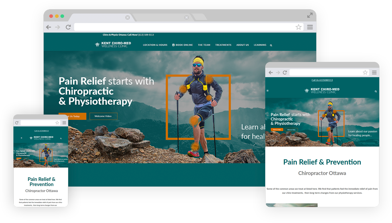 kent-chiro-med-webdesign
