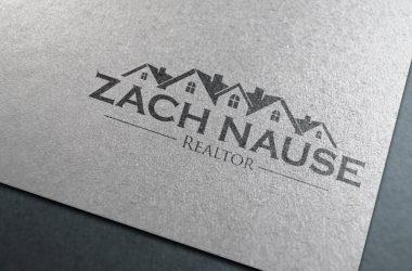 Logo Design Zach Nasue Realtor 2